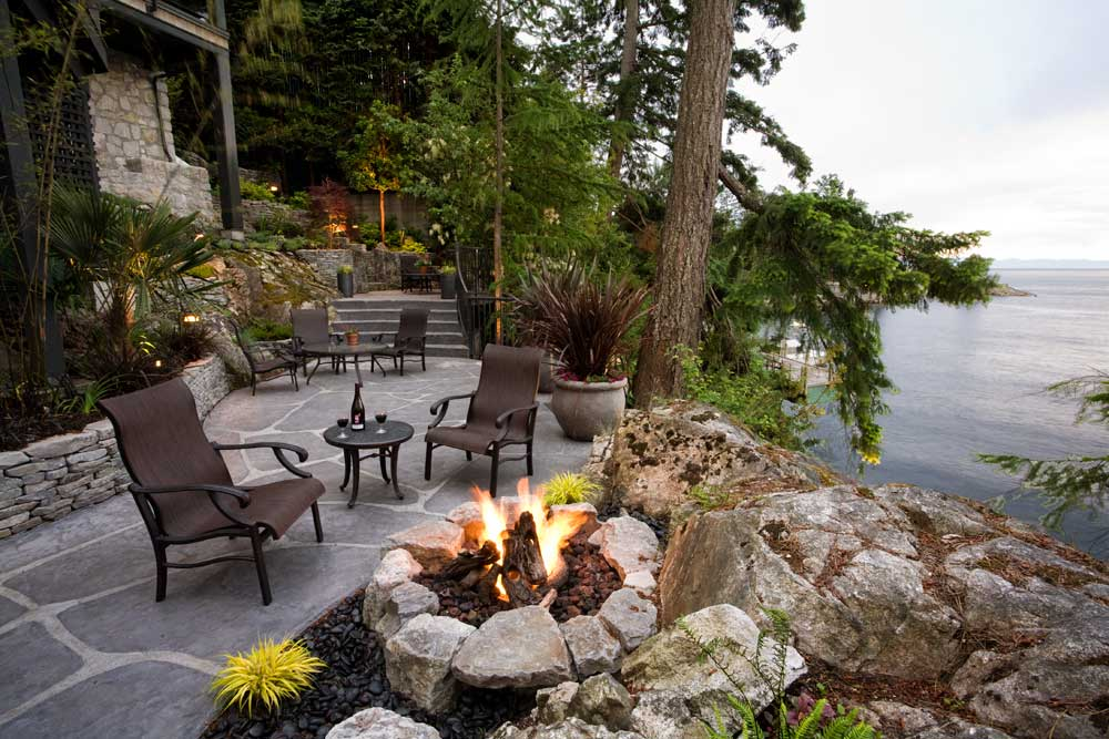 Landscape designers vancouver testimonials pacifica for Lakefront landscaping photos