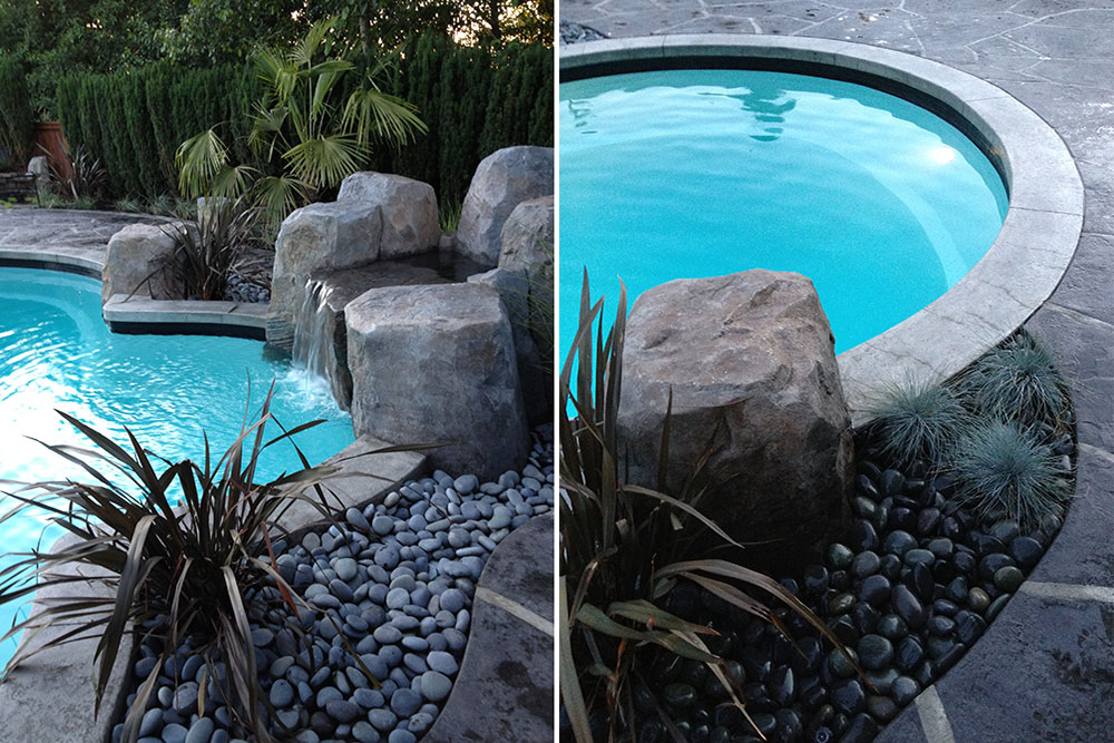 Pool landscape design vancouver higgins 39 pacifica for Pool design vancouver