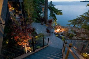 completed landscape design project, west vancouver landscape designer